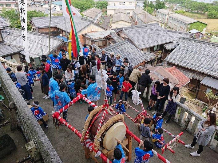 沖島の祭り