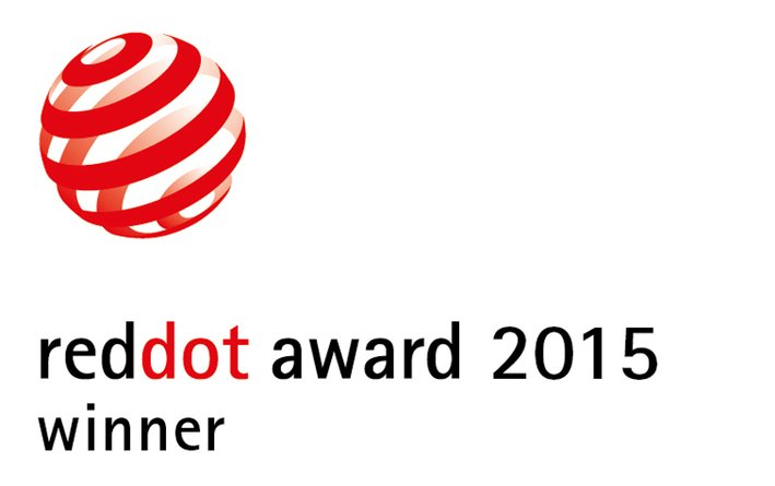「red dot product design 2015」を受賞